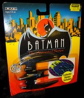 Batman The Animated Series: Die-Cast Metal Vehicle: Batplane - Sealed on Card